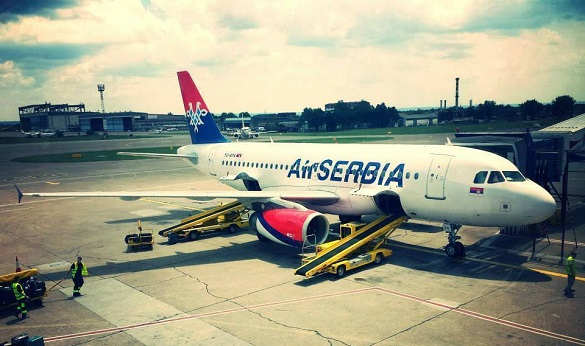 Air Serbia Happy Friday Beograd avio karte Berlin Diseldorf Skoplje