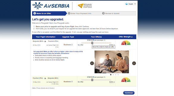 Friday Blog Air Serbia apgrejd