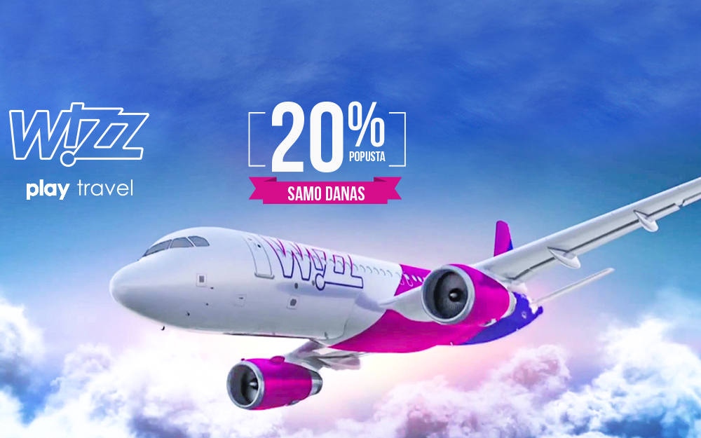 Wizz Air Pink Friday promo 2018