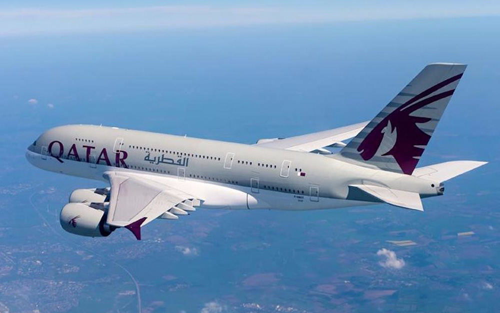 Qatar Airways Najduzi let